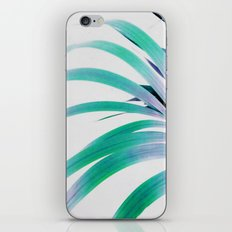 Colored Palm Leaf iPhone & iPod Skin