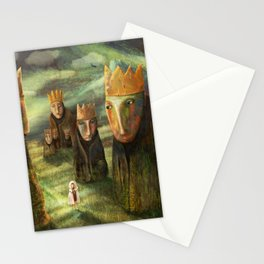In the Company of Kings Stationery Cards