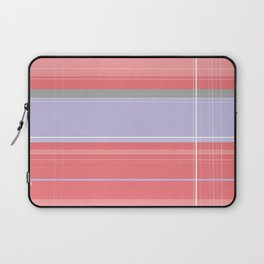 Pink and Purple Plaid Laptop Sleeve