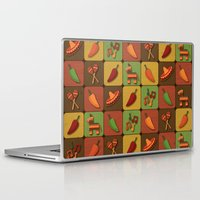 mexican Laptop & iPad Skins featuring Mexican Squares by Matt Andrews