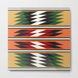 American Native Pattern No. 103 Metal Print