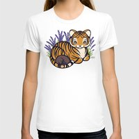 platypus T-shirts featuring Loafing Tiger, Hidden Platypus by Spoopy Surprise