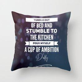 9 to 5 Throw Pillow