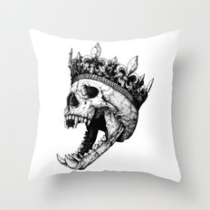 Ancients Kings : The Hound Throw Pillow