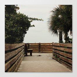 Wasted Beach Canvas Print