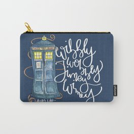 Wibbly Blue Carry-All Pouch