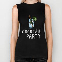 Fresh Mojito Cocktail Party Biker Tank