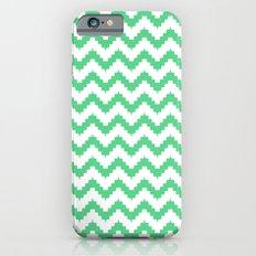 funky chevron mint pattern Slim Case iPhone 6s
