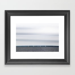 Northern mood Framed Art Print