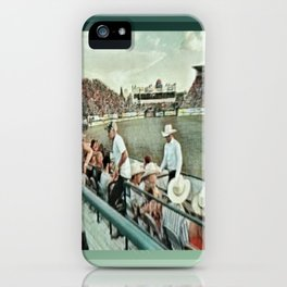 Rodeo Hitchin' iPhone Case