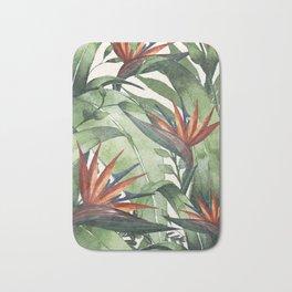 Tropical Flora I Bath Mat