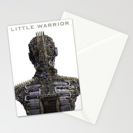Little Warrior - How Do I Be Strong Stationery Cards