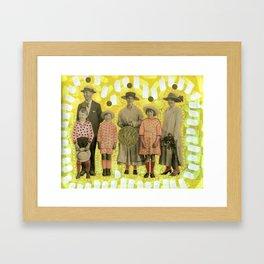 I Figli Del Grano Framed Art Print