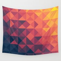 infinity Wall Tapestries featuring Infinity Twilight by Picomodi