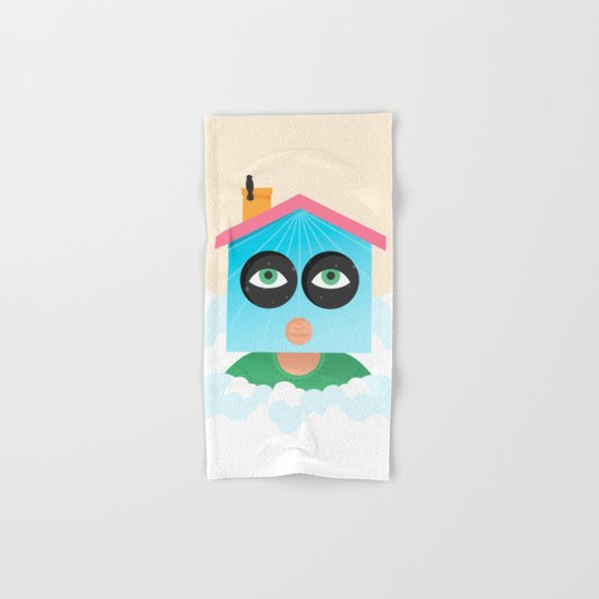 House of Birds Hand & Bath Towel