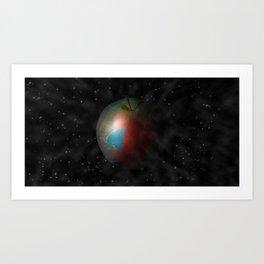 Apple World Art Print
