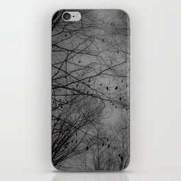Tree of black iPhone Skin