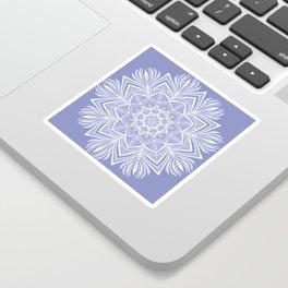 Violet Bloom Crown Chakra Sticker