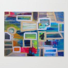 curiouser & curiouser Canvas Print