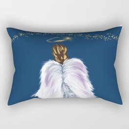 Future Angel Wings Rectangular Pillow