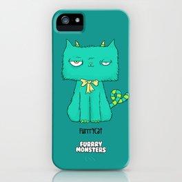 Furrrycat iPhone Case
