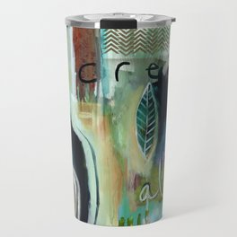"""Dream Alive"" Original Painting by Flora Bowley Travel Mug"