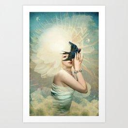 The Sun Canvas Print Art Print