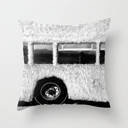 BUS Throw Pillow