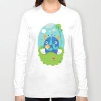 dreams Long Sleeve T-shirts featuring Dreams by Maria Jose Da Luz