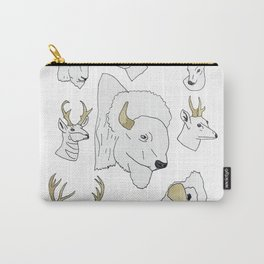 Horned Mounts Carry-All Pouch