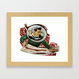 So Smooth | Collage Framed Art Print