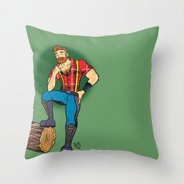 Jack! Throw Pillow