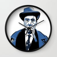 snl Wall Clocks featuring Fred Armisen by deathtowitches