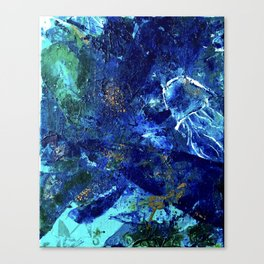Jelly Belly of the Deep, Tiny World Environmental Collection Canvas Print