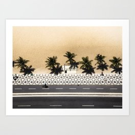 Ipanema From Above Art Print