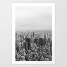 Empire State, New York Art Print