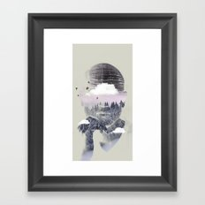 Contemplating Dome Framed Art Print