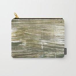 Dark green abstract Carry-All Pouch