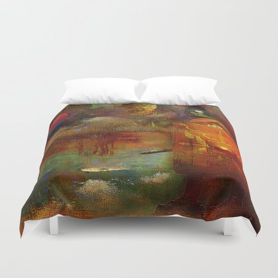 The fall of the Roman Empire Duvet Cover