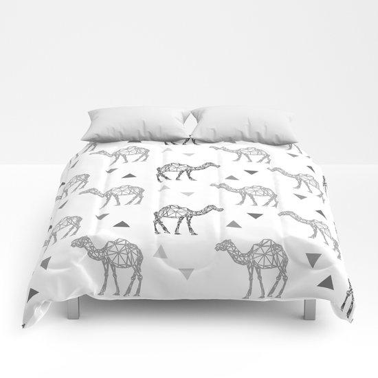 Camel Pattern Comforters