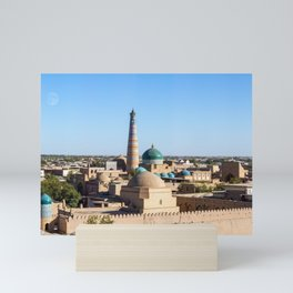 Panoramic of Khiva - Uzbekistan Mini Art Print