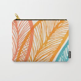 Tropical Flora - Retro Palette Carry-All Pouch