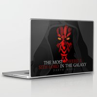 sith Laptop & iPad Skins featuring sith lord by shizoy