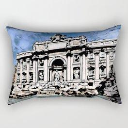 Fontana di Trevi, Rome Rectangular Pillow
