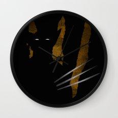 SuperHeroes Shadows : Wolverine Wall Clock