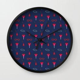 Sue Pattern Wall Clock