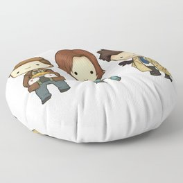 Chibi Dean Sam Castiel Supernatural Floor Pillow