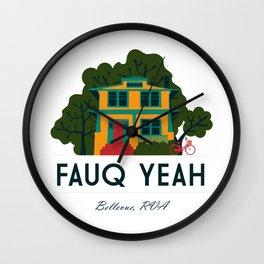 Fauq Yeah Wall Clock
