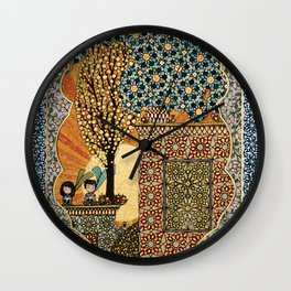 Night Rising Wall Clock