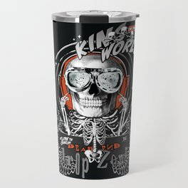 The One Who Sold the World (black wings) Travel Mug